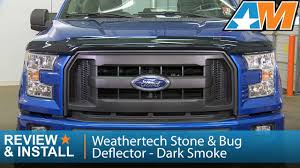 2015-2016 F-150 Weathertech Stone & Bug Deflector - Dark Smoke ... Bug Shieldshood Guards Topperking Providing All Of Shields Pickup Pals Truck Hdware Egr Superguard Hood Matte Black Stampede Us Flag Shield Fast Facts Youtube Lund Intertional Products Bug Deflectors Buy A Deflector For Your Vehicle Wade Auto Gallery Ct Electronics Attention To Detail Painted Trucks Installing Oem Ford F150 Postingercom Kenworth T600 T660 T800 W900b W900l Peterbilt Deflectors And Leonard Buildings Accsories