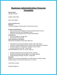 Best Of Resume Sample For Fresh Graduate Business Administration With Regard To Samples Examples