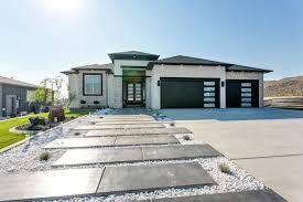 100 Modern Stucco House Viola Prodigy Homes Inc White Exterior Houses