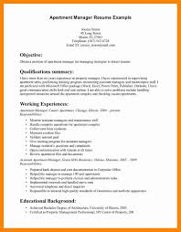Property Management Resume Example Awesome Maintenance Manager Sample Apartment