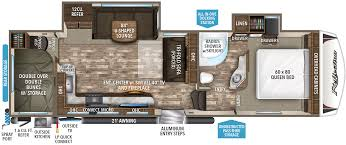 Travel Trailer Floor Plans With Bunk Beds by 28bh Grand Design