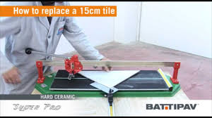 Qep Tile Saw Manual by Super Pro 750 Manual Tile Cutter Youtube