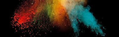 Watercolor Background Five Color