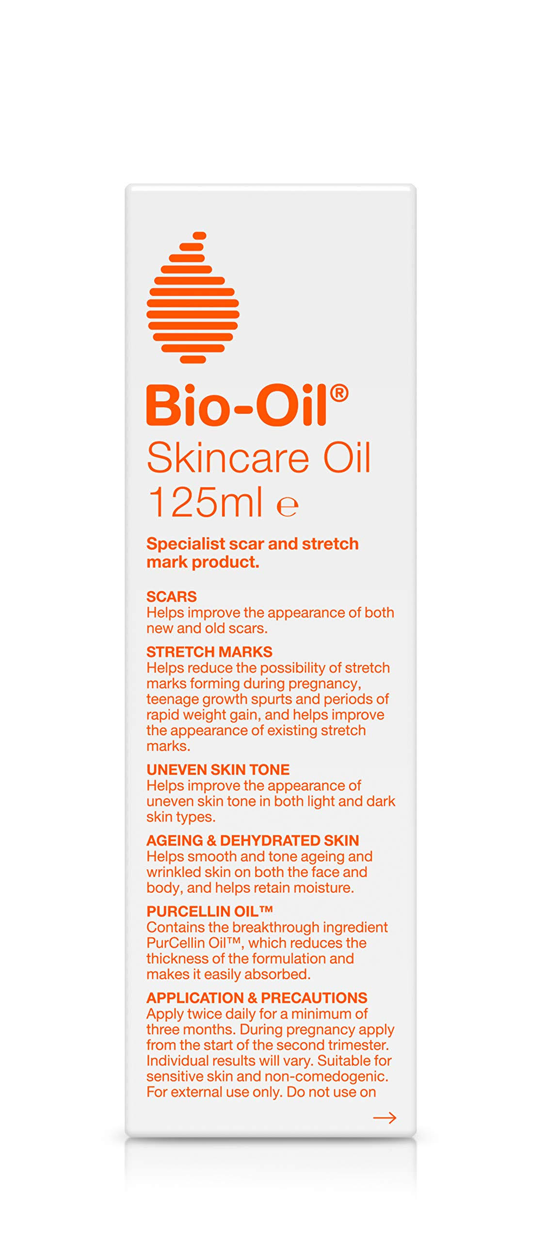 Bio Oil Scar and Stretch Mark Oil 125ml