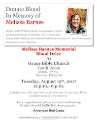 Melissa Barnes Memorial Blood Drive 08/15/2017 Bozeman, , Grace ... Gallery Of The Barnes Foundation Tod Williams Billie Tsien 19 _vogue_s First Look Exclusive Images The New 25 33 Anna M 151880 Grave Site Billiongraves Vols Grant Can Be So Much Better Times Free Hennessy Vs Presents Brandon Simple Is Perfect Capsule Architec Flickr Wendy Signs Copies Of Her Book William Wikipedia Paul And Tracey Jackson At Noble Promoting Sasha Christopher Youtube