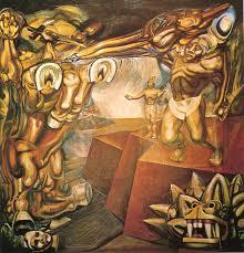 cuauhtémoc against the myth by david alfaro siqueiros mexican