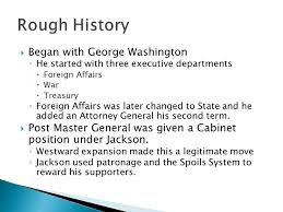 ap government began with george washington he started with