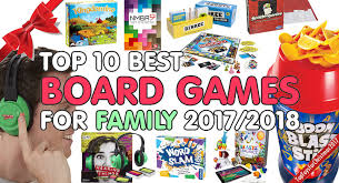 Best Family Board Games 2017 2018