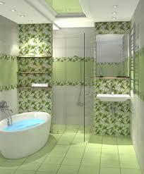 grüne bodenfliesen dunkelgrünes dekor auf dem boden im