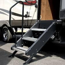 100 Truck Camper Steps MORryde STP32705H StepAbove 27W X 9R Aluminum Silver 3