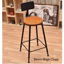 100 Retro High Chairs Bar Stools Chair Furniture Tables On Carousell