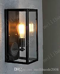 cheap retro vintage glass boxx rh filament narrow wall