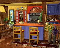 Cool Mexican Kitchen Decor Traditional Kitchen Its A Beautiful And