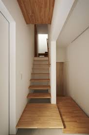 100 Modern House Designs Inside Home Wooden Stairs With Small Lane