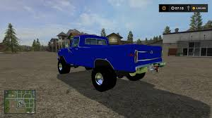 100 Pulling Truck FORD PULLING TRUCK GAS V10 For FS17 FS 2017 FS 17 Mod LS 2017