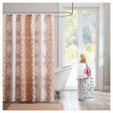 Orange Shower Curtains & Liners Tar