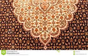 Persian Carpet Design Stock Photo Image Of Tabriz Yellow
