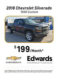Edwards Chevrolet Cadillac - Lease-Specials Edmunds Need A New Pickup Truck Consider Leasing Am 1440 Kycr 2014 Chevy Silverado Interior Pictures Chevrolet 1500 2019 Ram Lease Deals Nj Dodge Summit 1190 Wafs 2018 Nissan Titan Pickup Truck Offers Car Clo Vehicles Halifax Auto Brokers A New Or Suv In Milwaukee Wi Griffin Grill Unique Toyota Hilux Company And Personal Deals Uk Find The Best Deal On Used Trucks Toronto