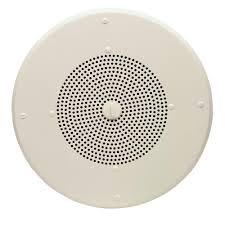 Bogen Ceiling Tile Speakers by Valcom 25 70 Volt 8 In Clarity Ceiling Speaker Vc S 500vc The