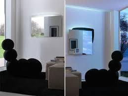 spiegel mit rückseite mit led beleuchtung idfdesign