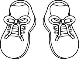 Girls Shoes Clipart Black And White ClipartXtras