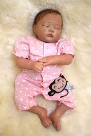 54cm Close Eyes Reborn Baby Dolls For Sale Silicone Reborn Lifelike