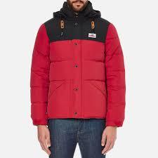 penfield men u0027s bowerbridge two tone jacket red clothing thehut com