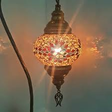 Tiffany Style Lamps Canada by Turkish Moroccan Colourful Tiffany Style Glass Desk Table Lamp