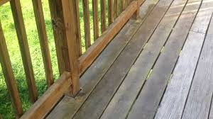 Behr Premium Deck Stain Solid by How To Stain A Deck Staining A Deck With Behr Stain Youtube