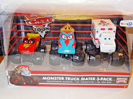 Disney Pixar Cars Monster Truck Mater 3 Pack - $ 1,600.00 En Mercado ... 8cm New 148 Scale Pixar Cars Toys Star Wars Version Mater As Darth Monster Trucks Lightning Mcqueen Tow Disney Color Sold Out Xtreme Monster Truck Samko And Miko Toy Warehouse Toons Maters Tall Tales Iscreamer In Play Doh Charactertheme Toyworld Monster Trucks Clipart Power Punch Xl Wrestling 2013 Tmentor Easy On The Eye Grave Digger Feature Grinder Pixar Toon Iscreamer Diecast Truck Mater Ice Toon Wrastlin Hobbies Tv Movie Character Find Radiator Springs 500 12 Diecast Car Offroad