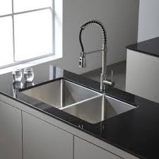 Menards Bathroom Sink Faucets by Kitchen Kraus Faucet For A Streamlined Look And Easy Installation