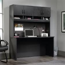 Black Writing Desk With Hutch by Computer Desks Office Hutches Kmart