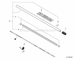 Echo Bed Redefiner by Echo 99944200465 Parts List And Diagram S89200001001