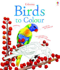 Birds To Colour Nature Colouring Books