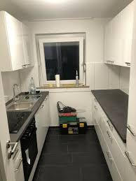 küche weiß hochglanz 2 zeilen pino