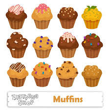 Muffin Clipart Muffins clipart Cupcake SVG Muffin Digital Bakery clipart Bake clipart Cupcake clipart Food clip art Sweets clipart
