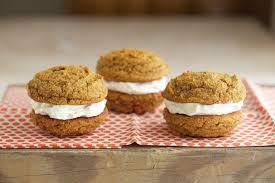 Pumpkin Whoopie Pies With Maple Spice Filling by Pumpkin Whoopie Pies Grain Free Gluten Free Deliciously Organic