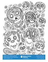 Decorate For Halloween With A Themed Coloring Page From Posh Adult Book
