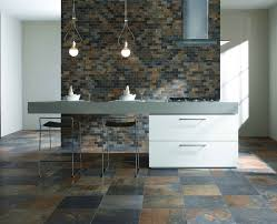 Natural Slate Autumn Porcelain Floor Tile Multicolor
