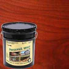 cwf deck stain home depot preserva wood 1 gal based pacific redwood penetrating