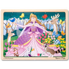 100 Melissa And Doug Fire Truck Puzzle Woodland Princess Wooden Girls