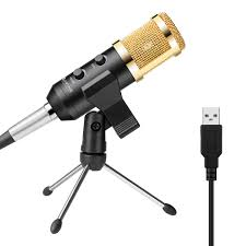 Fifine USB Microphone Plug Play Condenser Microphone For PC