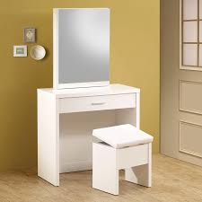 Shop Coaster Fine Furniture White Makeup Vanity at Lowes