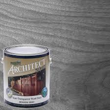 Christmas Tree Preservative Home Depot by Preserva Wood 1 Gal Semi Transparent Oil Based Seaside Gray Wood