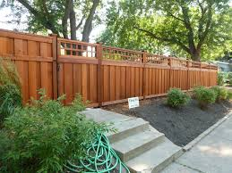 2012 new fence by dakota unlimited rosemount mn stained with