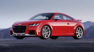 2018 Audi TT RS Finally Arrives In U S With $64 900 Price Tag