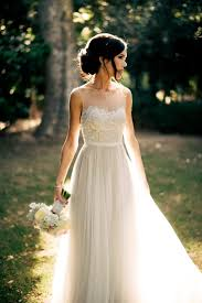A Rustic Wedding Dress