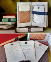 Vintage Books As Wedding Invitationsor Any Invitation For That Matter
