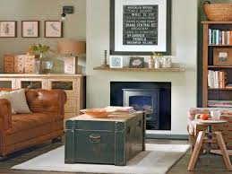 Vintage Living Room Ideas With Repurpose Chest Rustic
