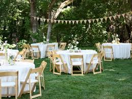 Image Of Ideas 14 Stunning Backyard Wedding Decorations Pertaining To Small
